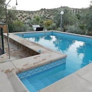 Chalet With 5 Bedrooms in La Guardia de Jaen, With Wonderful Mountain View, Private Pool and Enclosed Garden