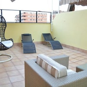 Apartment With 4 Bedrooms in Granada, With Wonderful City View, Furnished Terrace and Wifi - 40 km From the Slopes