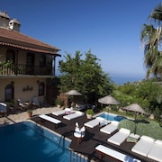 Villa With 6 Bedrooms in Fethiye, Wonderful sea View, Private Pool, Jacuzzi in Each Bedroom - 2 km From the Beach