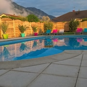 House With 2 Bedrooms in Voreppe, With Wonderful Mountain View, Pool Access, Furnished Garden - 20 km From the Slopes