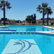 Elegant, 2-bedroom Apartment in Orihuela Costa With Wifi, a Furnished Balcony and Swimming Pool Access!