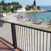Apartment With 2 Rooms in Tribanj, With Enclosed Garden and Wifi - 10 m From the Beach