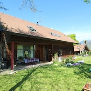 House With 4 Bedrooms in Annecy-le-vieux, With Wonderful Mountain View, Enclosed Garden and Wifi