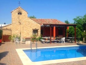 House With 7 Bedrooms in Burguillos de Toledo, With Private Pool and Enclosed Garden