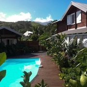 Bungalow With 2 Bedrooms in Vincendo, Saint-joseph, With Pool Access, Furnished Garden and Wifi
