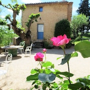 Traditionnal 4 Bedrooms House in Allemagne en Provence, With Furnished Garden and Wifi