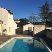 House With 2 Bedrooms in La Calmette, With Private Pool, Enclosed Garden and Wifi - 35 km From the Beach