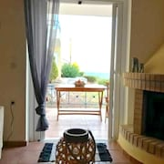 House With one Bedroom in Theologos, With Wonderful sea View and Enclosed Garden - 500 m From the Beach