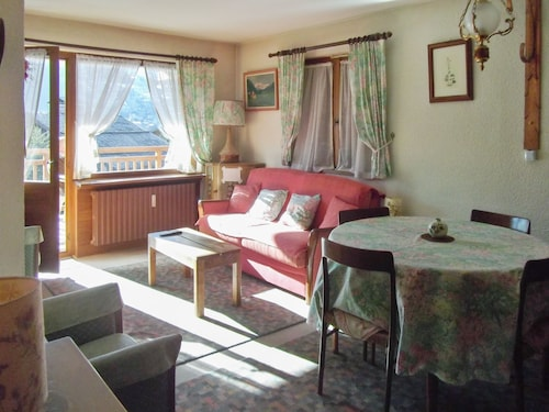 Apartment With one Bedroom in Megeve, With Wonderful Mountain View and Furnished Terrace - 10 m From the Slopes