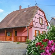 A Traditional, 3 Bedroom House With Terrace and Garden 35km From Strasbourg!