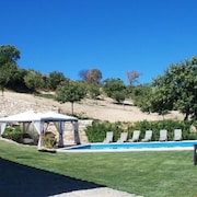 Spacious, 9 Bedroom House in Penedono, Portugal With a Pool, Garden and Wifisleeps 18