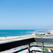 Apartment With 2 Bedrooms in A Ver-o-mar, Póvoa de Varzim, With Wonderful sea View, Furnished Balcony and Wifi - 100 m From the Beach