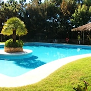 House With 3 Bedrooms in Islantilla, Huelva, With Pool Access and Enclosed Garden
