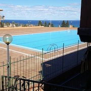 Apartment With one Bedroom in Finale di Pollina, With Wonderful sea View, Pool Access, Furnished Terrace