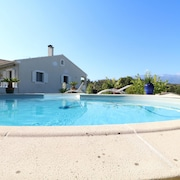 Villa With 3 Bedrooms in Oletta, With Wonderful Mountain View, Pool Access, Furnished Terrace - 4 km From the Beach