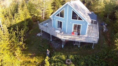 Check Expedia for Availability of Bluenose House By The Ocean With Private Beach on Cape Breton Island, Nova Scotia