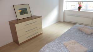1 間臥室、書桌、熨斗/熨衫板、免費 Wi-Fi