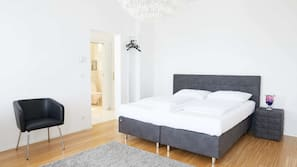 1 Schlafzimmer, kostenloses WLAN, Bettwäsche