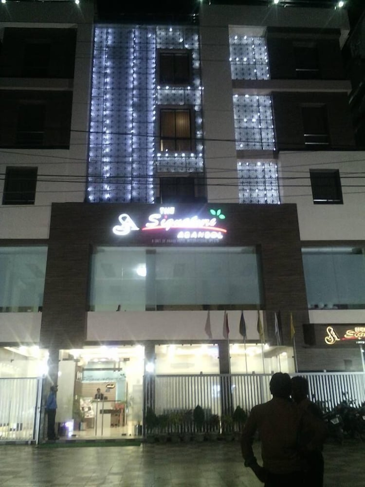 Front of Property - Evening/Night, Hotel The Signature Asansol
