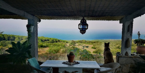 House With 2 Bedrooms in El Chaparral, With Wonderful sea View and Enclosed Garden - 2 km From the Beach