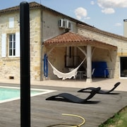House With 4 Bedrooms in Monsempron-libos, With Pool Access, Furnished Garden and Wifi - 55 km From the Beach