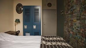 Cofres nos quartos, individualmente decorados