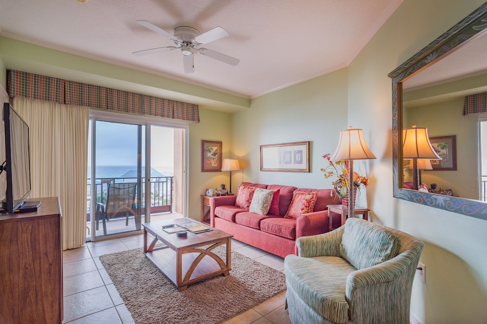 Living Room, Beachfront at Sandestin