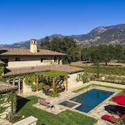 Tuscan Luxury: Gated Private Estate, Heart of Montecito, Resort-quality Pool