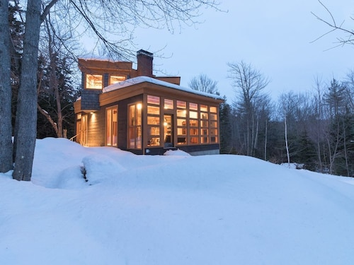 Great Place to stay Modern Cabin in the Woods - Upscale Seclusion in Tranquil Setting, Dogs Welcome! near Windham