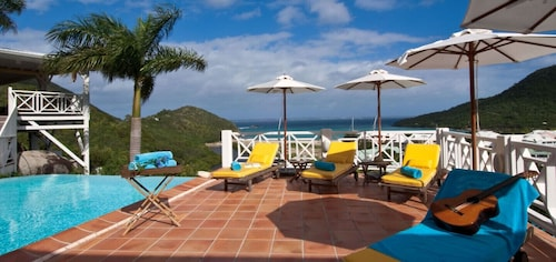 Villa Casa Branca - Ocean View - Located in Wonderful Anse Marcel With Private Pool