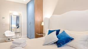 3 dormitorios, ropa de cama de alta calidad, mobiliario individual