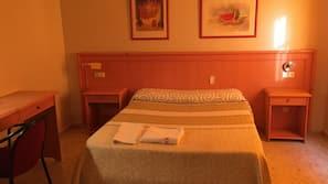 Pillowtop beds, blackout drapes, iron/ironing board, free WiFi