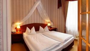 1 Schlafzimmer, hochwertige Bettwaren, kostenloses WLAN, Bettwäsche