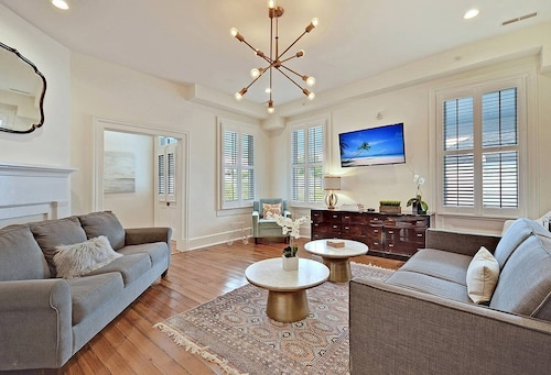 Great Place to stay West Elm Suite - 4 Blocks to Citadel Stadium near Charleston