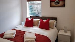 2 bedrooms, soundproofing