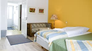 1 bedroom, cots/infant beds, rollaway beds, free WiFi