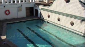 Outdoor pool, a lap pool