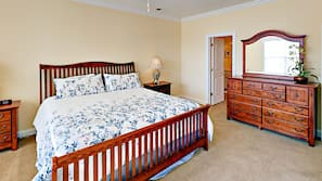5 bedrooms, iron/ironing board, cribs/infant beds, free WiFi