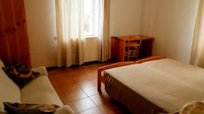 Down duvets, iron/ironing board, cots/infant beds, free WiFi