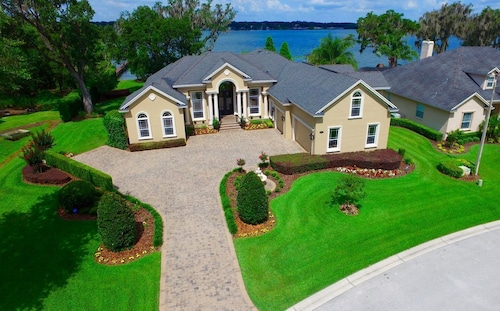 Check Expedia for Availability of Luxury Lakefront House - Near Disney, Orlando, Tampa, Beaches