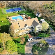 Incredible 4 Acre Estate Pool Home, Lighted Tennis Court, Numerous Amenities!