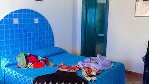 1 Schlafzimmer, hochwertige Bettwaren, kostenpflichtige Zustellbetten