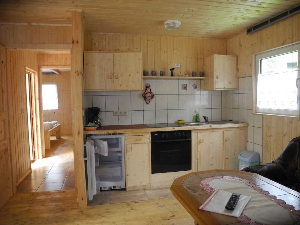 Private Kitchen, Feriendorf Finnhütte