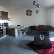 Apartment With 2 Bedrooms in Kerfot, With Wonderful City View, Furnished Terrace and Wifi - 2 km From the Beach