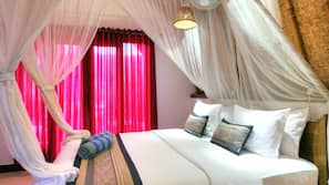In-room safe, blackout curtains, soundproofing, free WiFi