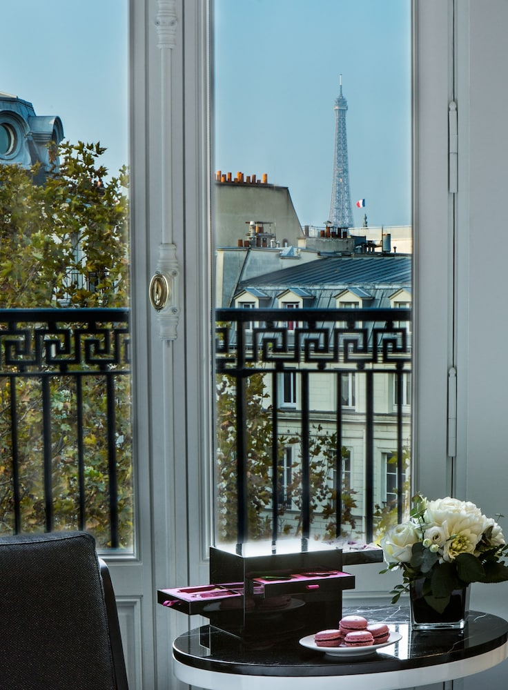 View from Room, Fauchon L'Hotel Paris