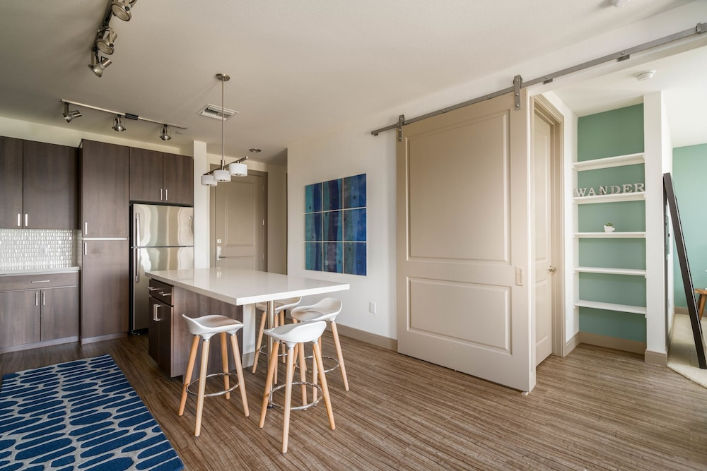 In-Room Dining, Luxe Tempe Apartments by WanderJaunt