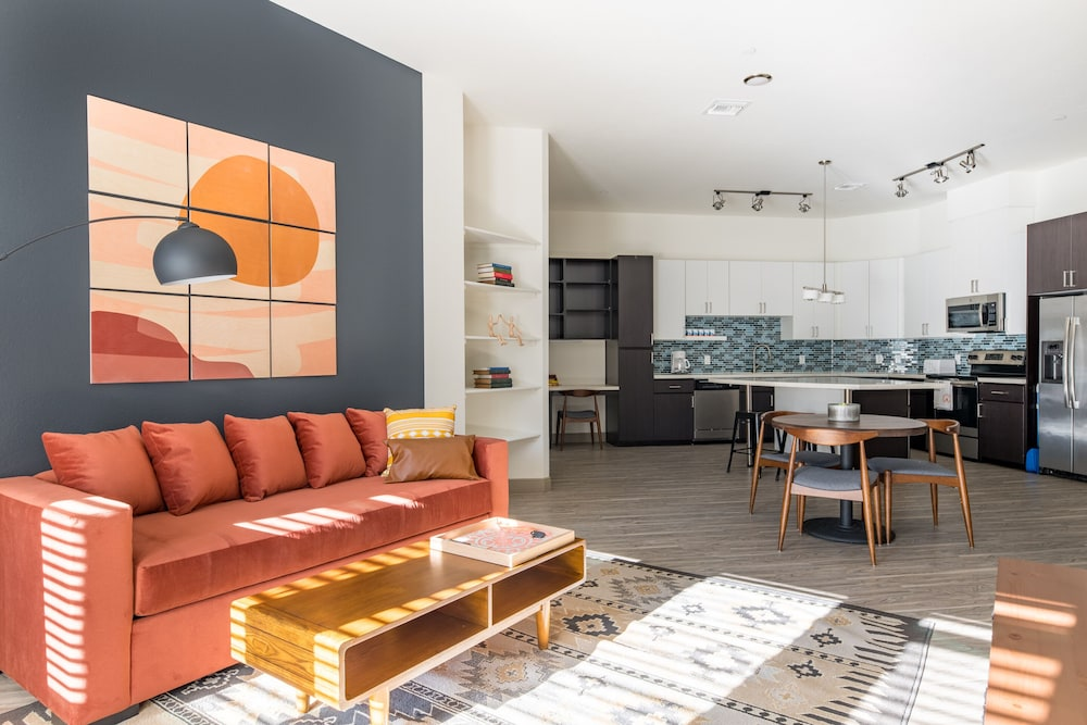Living Room, Luxe Tempe Apartments by WanderJaunt
