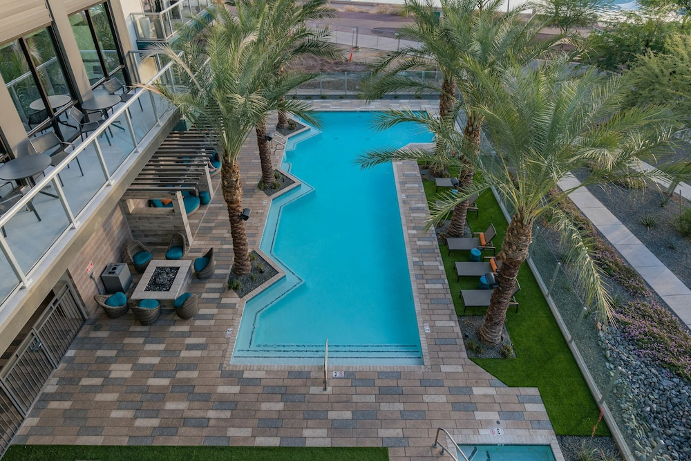 Outdoor Pool, Luxe Tempe Apartments by WanderJaunt