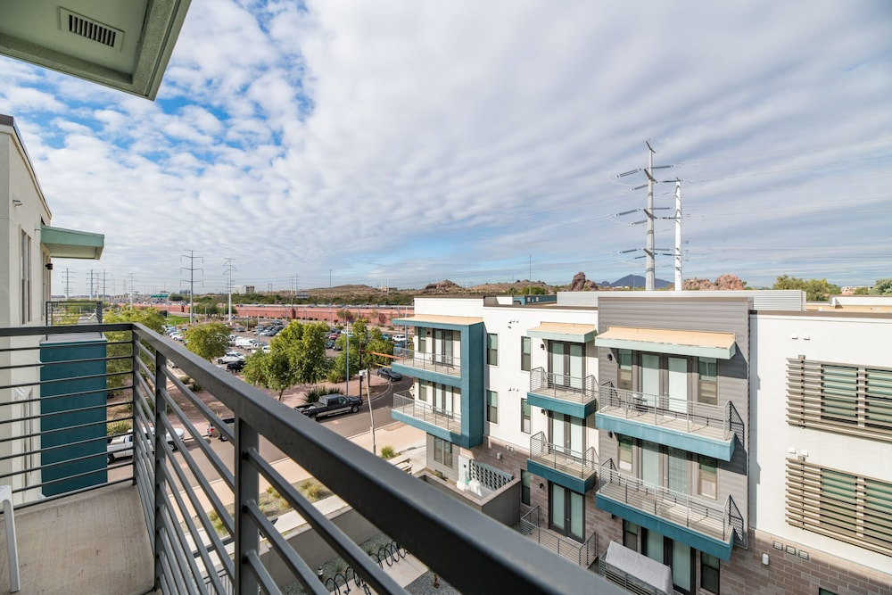 Balcony, Luxe Tempe Apartments by WanderJaunt